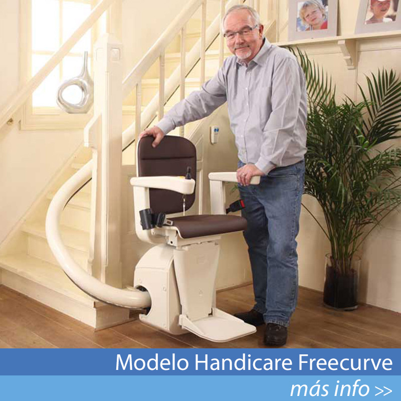 Modelo Handicare Freecurve
