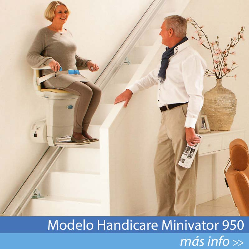 Modelo Handicare Minivator 950