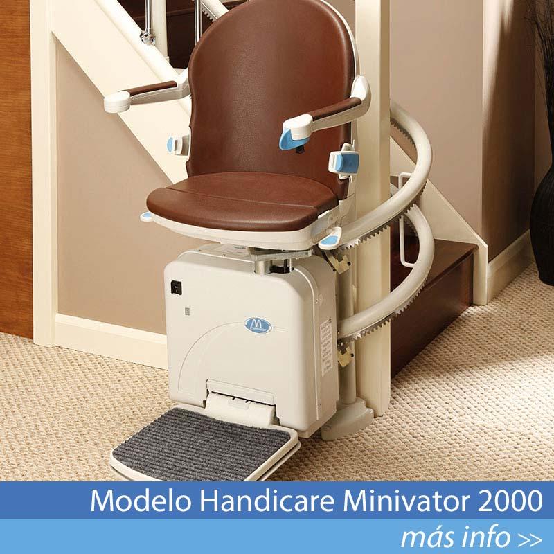 Modelo Handicare Minivator 2000