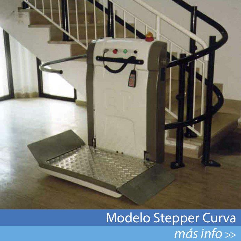 Modelo Stepper Curva