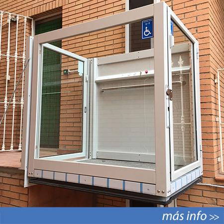 Elevador salvaescaleras vertical modelo EPA-1 en Alicante