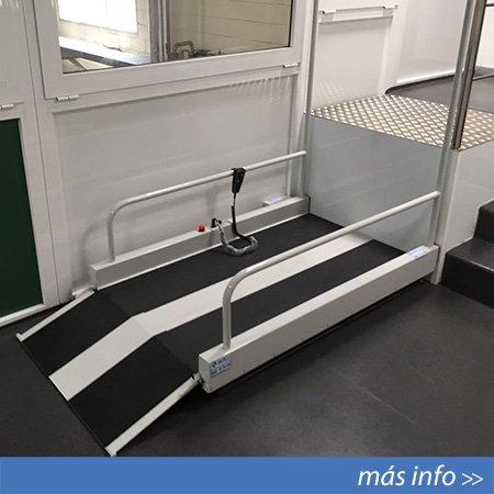 Elevador vertical modelo Dizalo-Liftboy instalado en Murcia