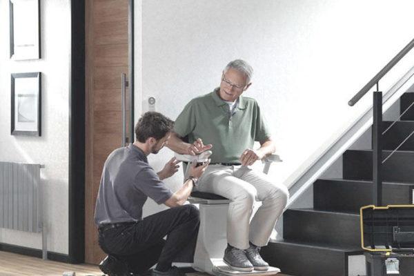 reparacion-silla-salvaescaleras