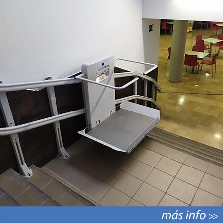 Plataforma elevadora salvaescaleras instalada en Lorca (Murcia)