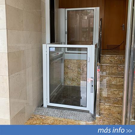 Elevador salvaescaleras de corto recorrido EPA-1 instalado en Alicante